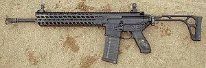 SIG MCX - SIG MCX rifle with standard folding stock