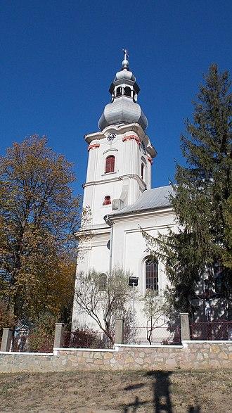 Săcueni - Image: Sacueni BH Catholic Church