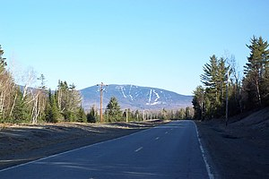 Saddleback Mountain (Rangeley, Maine) - As seen from State Route 16