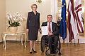 Saeimas priekšsēdētāja sveic Latvijas paralimpisko vienību un Almu Vītolu (22693425394).jpg