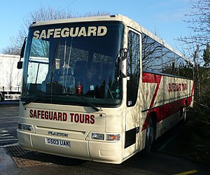 Dennis Javelin - Safeguard Coaches Plaxton Premiere bodied Dennis Javelin in January 2009
