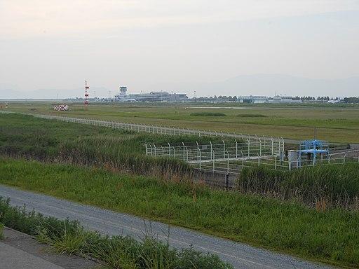 Saga Airport distant view