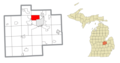 Saginaw Township North, MI location.png