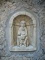 Saint-Bertrand-de-Comminges - Statue de la Vierge Marie à l'enfant 01.jpg
