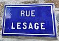 Saint-Brieuc (Côtes d'Armor) rue Lesage.jpg