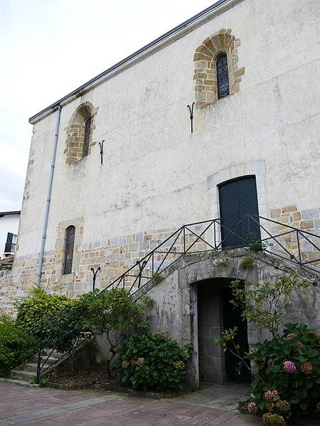 Saint-Peter's church in Saint-Pée-sur-Nivelle (Pyrénées-Atlantiques, Nouvelle-Aquitaine, France).