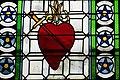 Saint-Pierre-d'Oléron Kirche - Fenster 1 Herz.jpg