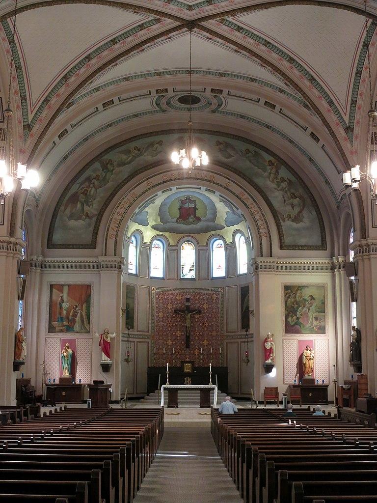 file saint augustine church covington kentucky nave 2. Black Bedroom Furniture Sets. Home Design Ideas