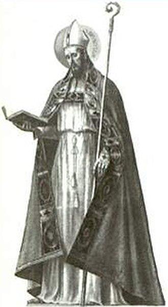 Bruno (bishop of Segni) - Image: Saint Bruno, Bishop of Segni