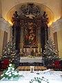 Saint Catherine Church. Main altar. Saint Catherine of Alexandria. - Budapest.JPG