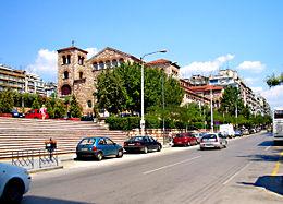 Ο Ιερός Ναός του Αγίου Δημητρίου, Πολιούχου της Θεσσαλονίκης.