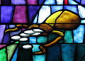 Saint James the Greater Catholic Church (Concord, North Carolina) - stained glass, 30 pieces of silver.JPG