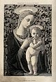 Saint Mary (the Blessed Virgin) with the Christ Child. Etchi Wellcome V0033792.jpg