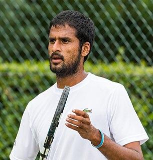 Saketh Myneni Indian tennis player