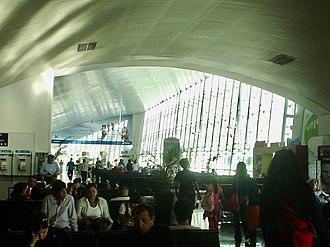 Miguel Hidalgo y Costilla Guadalajara International Airport - Concourse A.