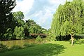 Saline River in Wilson Park, Milan, Michigan.JPG