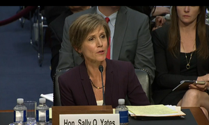 Sally Yates - Image: Sally Q Yates testifying