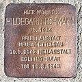 Salzburg - Parsch - Wolfsgartenweg 29 - Stolperstein HIldegard Lohmann.jpg