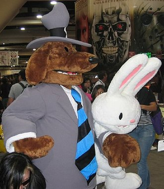Sam & Max - A costume of Sam and Max at Comic-Con International in 2007