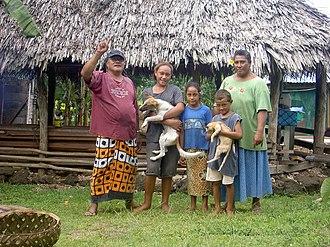 Samoans - Samoan family