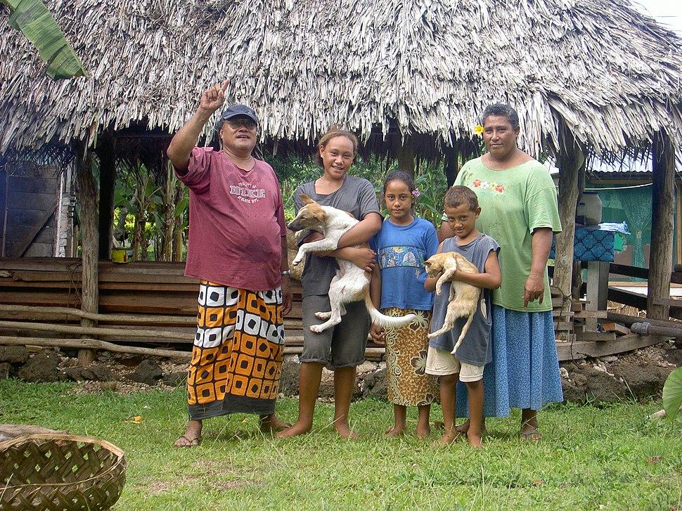 Samoa Familie
