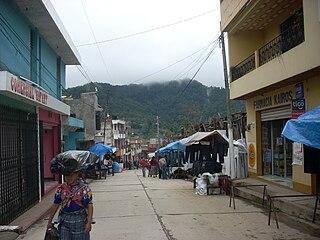 San Francisco El Alto Municipality in Totonicapán, Guatemala