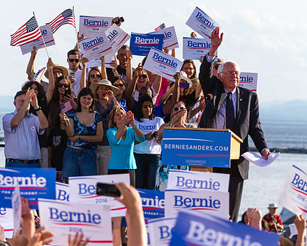 Sanders presidential campaign kickoff,  May 2015