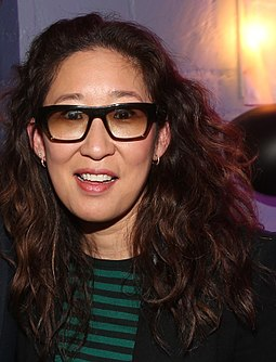 Grey's Anatomy: The Video Game includes a plot focused around Cristina Yang, Sandra Oh's character. Sandra Oh 2016.jpg
