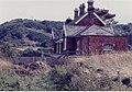 Sandsend railway station (site), Yorkshire, 1981 (geograph 3276292).jpg