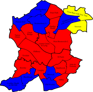 2008 Sandwell Metropolitan Borough Council election