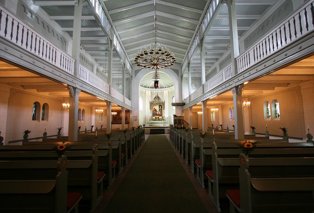Eglise Sankt Stefans Kirke à Copenhague.