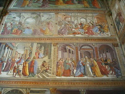 Santa maria novella, cappella tornabuoni, domenico ghirlandaio3