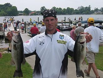 Bass Anglers Sportsman Society - Kyle Walling, Bassmaster Southern Opens, Santee Cooper, SC, 2008