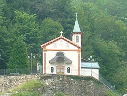 The Shrine of the Madonna of the Colletta of Luzzogno in Valstrona