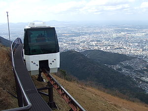 Sarakurayama Cable Car - Sarakurayama Slope Car