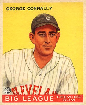 Sarge Connally - Sarge Connally 1933 Goudey baseball card