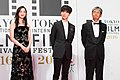 "Sasaki Nozomi, Yesung & Asahara Yuzo from ""My Korean Teacher"" at Opening Ceremony of the Tokyo International Film Festival 2016 (32829965313).jpg"