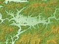 Sasayama Basin Relief Map, SRTM-1.jpg
