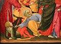 Sassetta, cattura di cristo, dal polittico di sansepolcro, 1437-44 ca. 02 pietro taglia un orecchio.jpg
