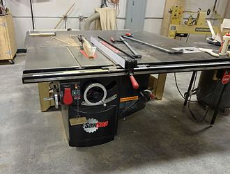 SawStop - Saw Stop table saw used at TechShop in Redwood City California