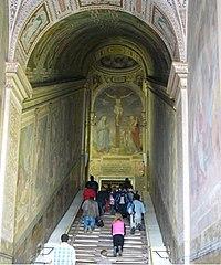 The Scala Sancta. Archbasilica of St. John Lateran