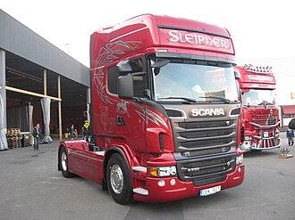 Automotive industry in Sweden - Scania R730 truck.