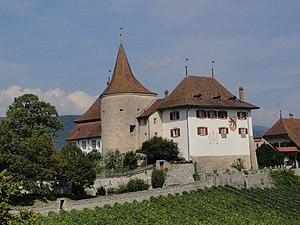 Burchard of Basle - Image: Schloss Erlach