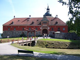 Gripsholm Castle - Front view of the castle