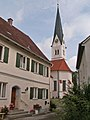Schmiechen - Kirchpl Nr 4, Pfarrkirche v S.jpg