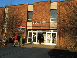 Voorhees Mall - Scott Hall