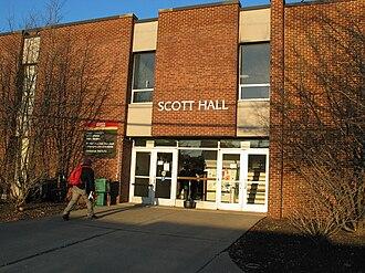 Voorhees Mall - Scott Hall