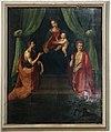 Scuola di san marco (forse ridolfo del ghirlandaio), madonna col bambino tra i ss. giovanni battista e sebastiano.jpg