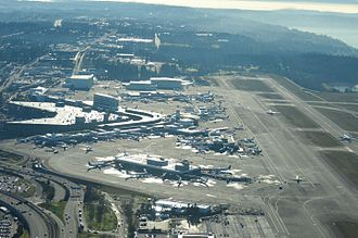 Seattle–Tacoma International Airport - Sea–Tac terminals