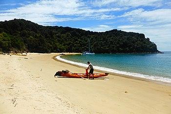 Sea kayak, Te Pukatea Bay - panoramio.jpg
